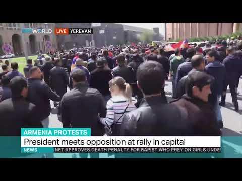 Armenian protesters demand PM's resignation