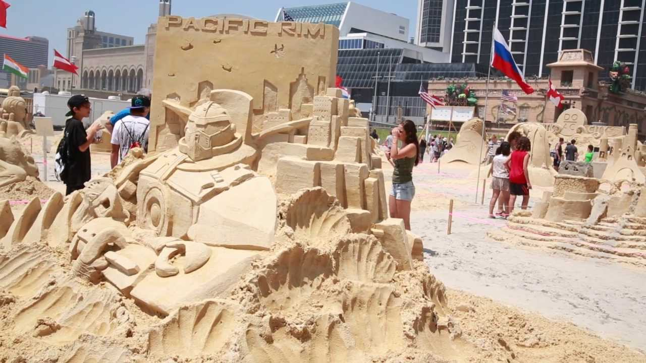 Pacific Rim Atlantic City World Championship Sand Castle - The 10 coolest sandcastle competitions in the world