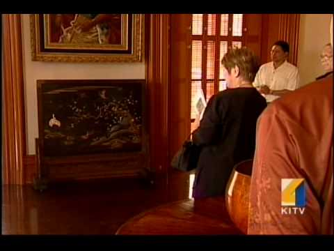 King Kalakaua's Japanese Screen Returns to Iolani Palace
