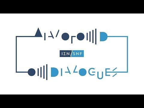 """Ζωντανή Μετάδοση: To ΙΣΝ εγκαινιάζει τη νέα μηνιαία σειρά εκδηλώσεων """"Διάλογοι""""."""
