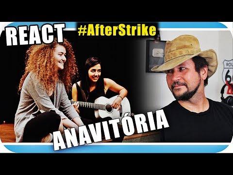 ANAVITÓRIA - Música  Talent Marcio Guerra Canto Reagindo  React