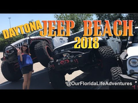 Jeep Beach Daytona 2018 - Best of Florida - Daytona Beach Events Travel Vlog