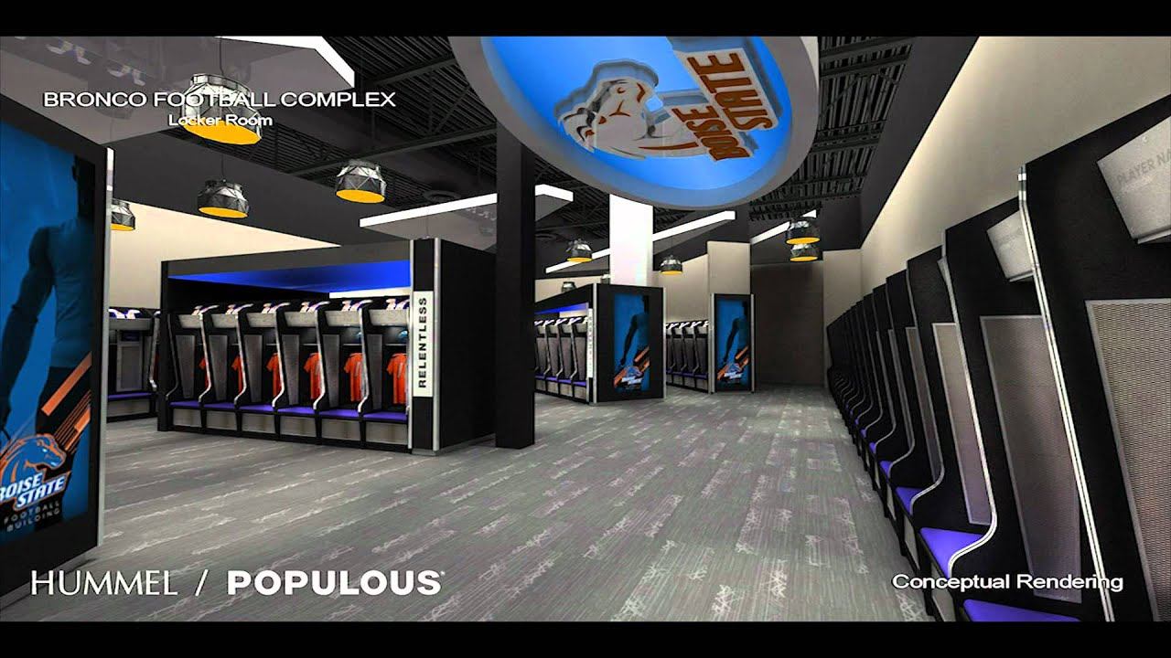 Bronco Stadium Expansion Project Youtube