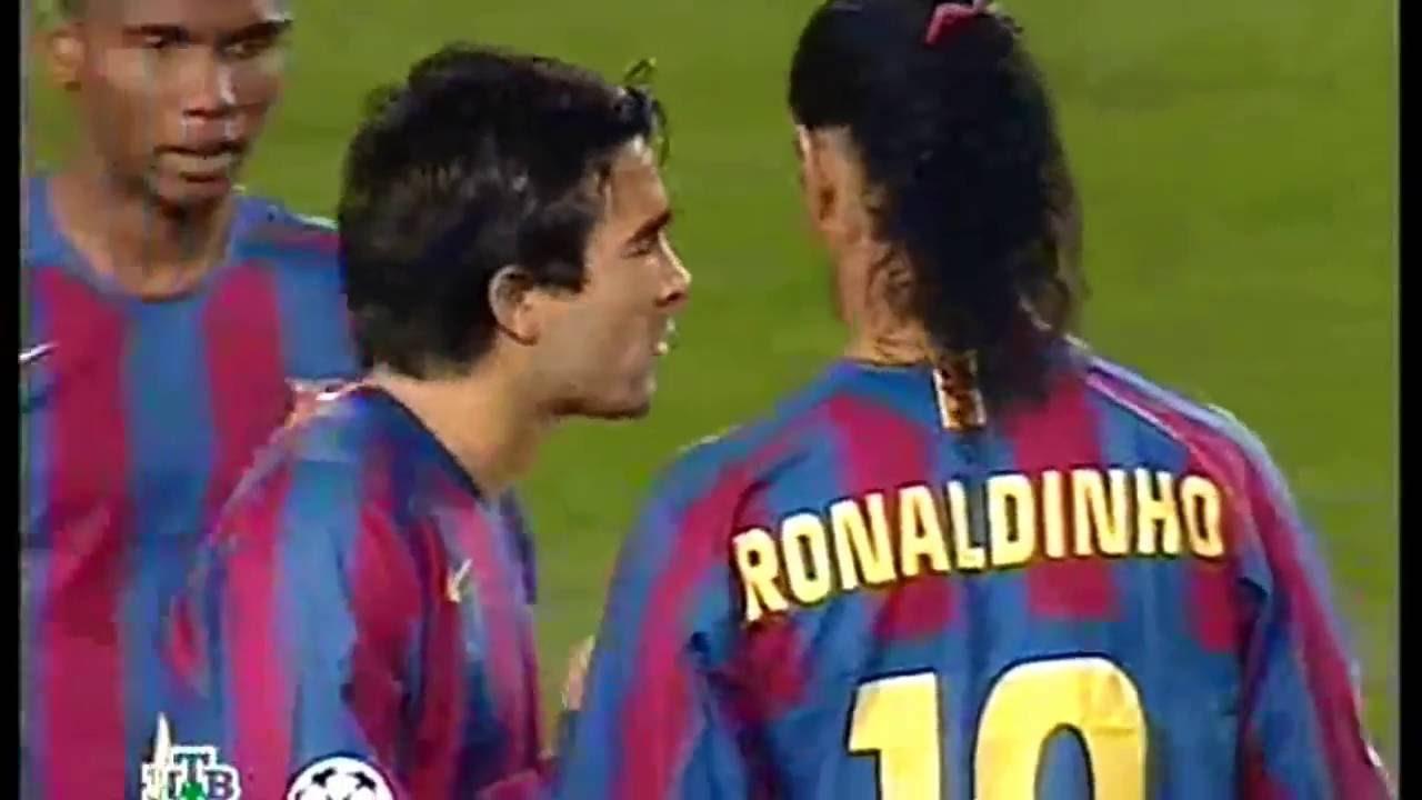 As Atuacoes Magicas De Ronaldinho Nos Epicos Barcelona X Chelsea De 2005 E 2006