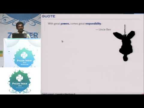 Image from Lightning Talk - Bitten by Python - PyCon India 2015