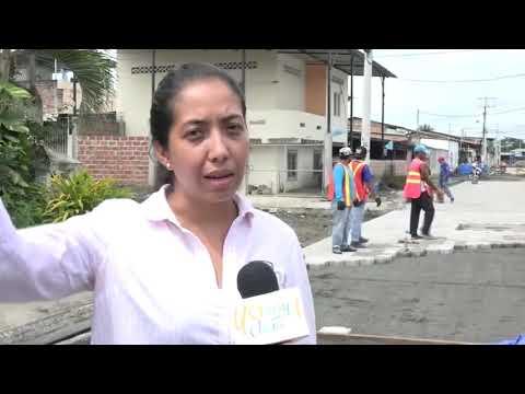 Microinformativo Yo Soy de Chone - Mejoramiento vial en Potrerillo
