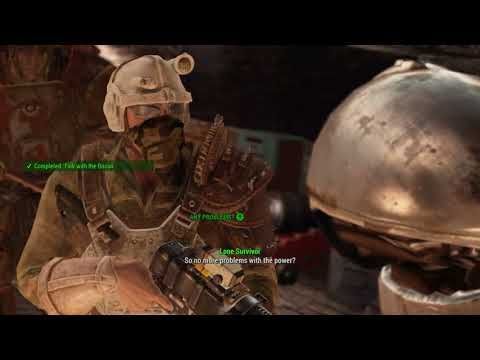 Fallout 4 - SQ Last Voyage of U.S.S. Constitution #2 Repairs