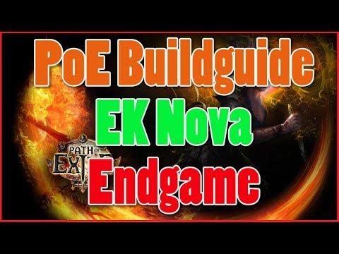 [3.3] Path Of Exile Build Guide - EK Nova MF-Endgame - Leaguestarter [Deutsch]