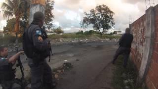 Operação na favela de Antares em Santa Cruz com intenso tiroteio