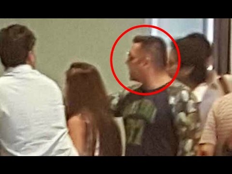 Salman Khan Fight With Vistara Airlines Staff Due To Misses His Flight !!
