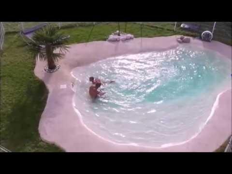 Comment trouver et r parer une fuite sur liner piscine doovi for Piscine lagon caoutchouc