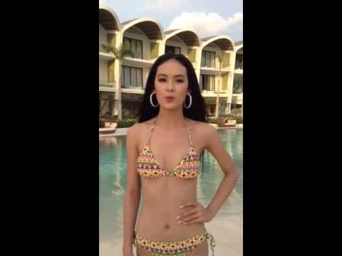 Thí sinh Hoa hậu Đại dương 2014 tự tin tiến đến vòng chung
