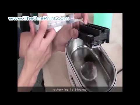 How to Clean Clogged Epson Print Head by Manual (DX5, DX7, XP600, DX8, Epson 5113, EPS3200)