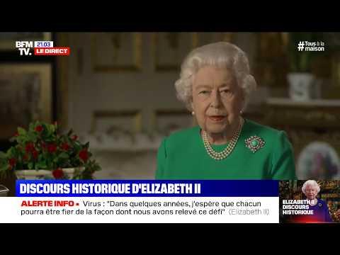 CORONAVIRUS - Revoir le discours historique de la reine d'Angleterre ������
