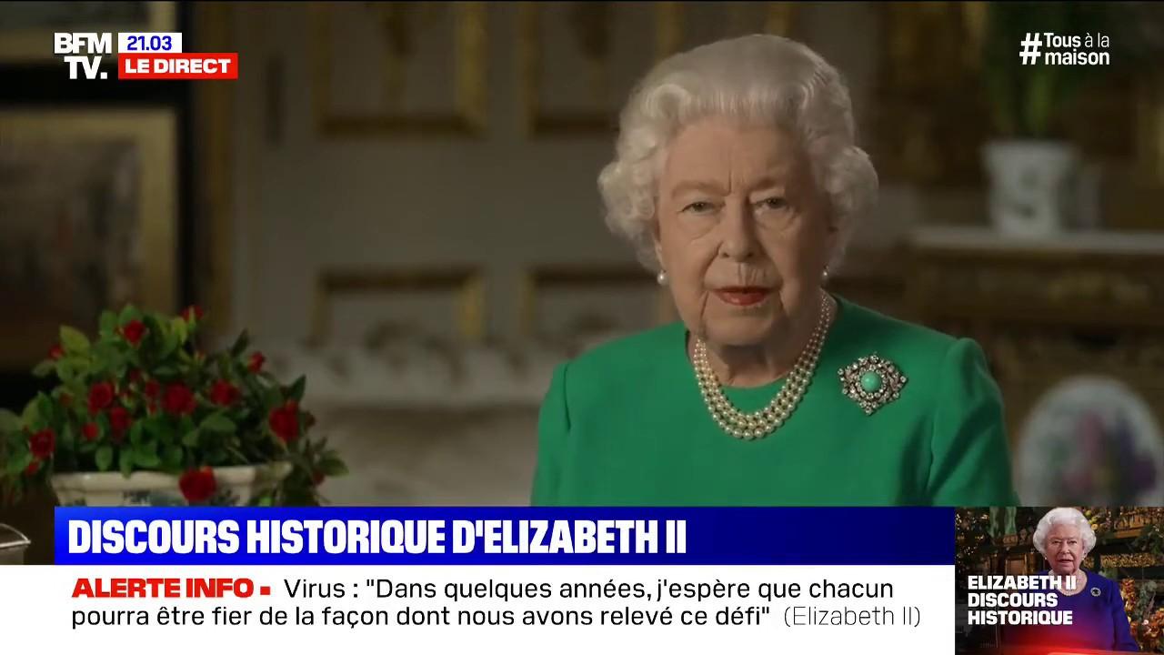CORONAVIRUS - Revoir le discours historique de la reine d'Angleterre