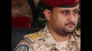 Amjad Khalid, a field commander in Aden, received a warm welcome in Aden