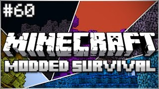 Minecraft: Modded Survival Let's Play Ep. 60 - The Trees Live!