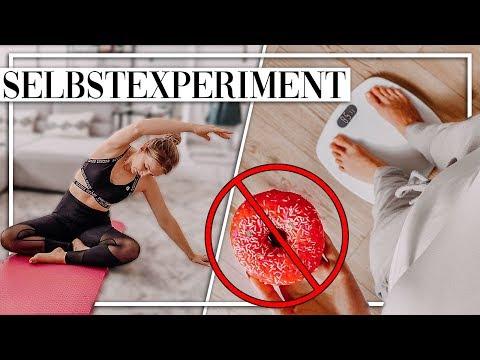 1 Woche JEDEN TAG Sport, KEINE Süßigkeiten Und 2L Wasser Trinken! Selbstexperiment - TheBeauty2go
