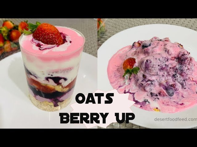 Healthy Oats Berry Up   #shorts   Summer Delight Recipe