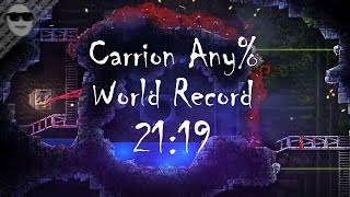 Carrion Any% World Record Speedrun in 21:19