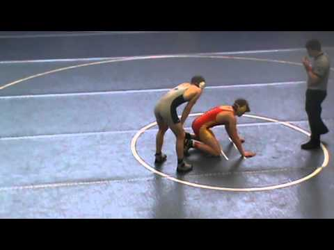 Hunter Smith Creekview Wrestling: Sectional Finals