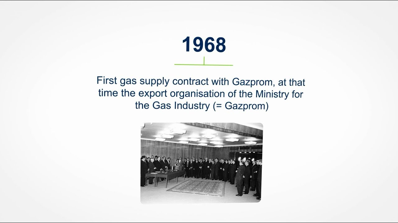 50th Anniversary of the Gas Supply Contract