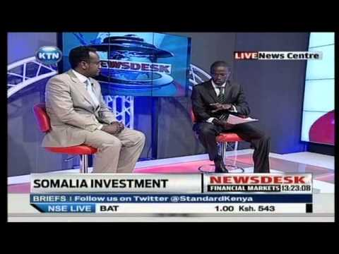 Somalia Investment Conference  Interview with Hassan Noor
