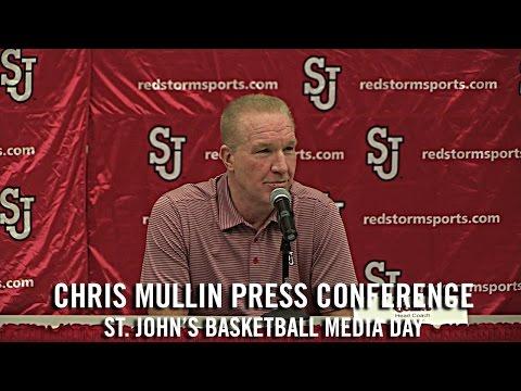 Chris Mullin Press Conference: St. John