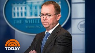 Acting Chief Of Staff Under Fire For Previous Comments On President Donald Trump   TODAY