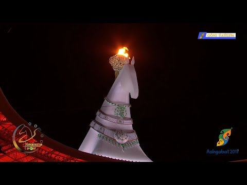 Ashgabat 2017 - Opening Ceremony (5th Asian Indoor and Martial Arts Games) - 1080p