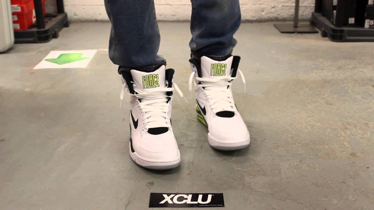 Nike Air Force On Feet