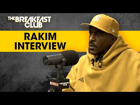 Rakim Breaks Down Hip-Hop History, Talks Dr. Dre Sessions, Eric B, His Book + More