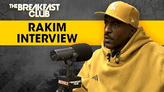 Rakim Breaks Down Hip-Hop History, Talks Dr. Dre Sessions, Eric B, His Book + More
