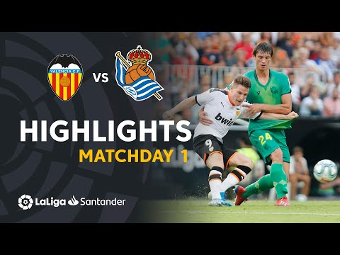 Highlights Valencia CF vs Real Sociedad (1-1)