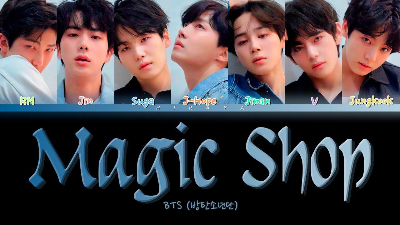 """Download BTS """"Magic Shop"""" (방탄소년단 """"Magic Shop"""") [Color Coded Lyrics (Han/Rom/Eng)]"""