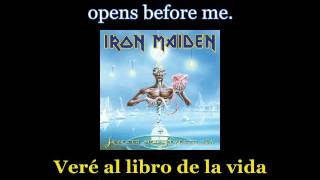 Iron Maiden - The Evil That Men Do - Lyrics / Subtitulos en español (Nwobhm) Traducida