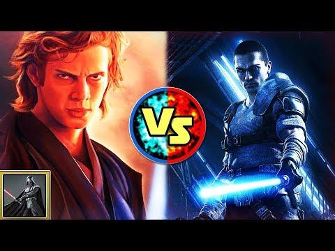 Star Wars Versus:  Anakin Skywalker VS. Starkiller - Star Wars Basis Versus #22