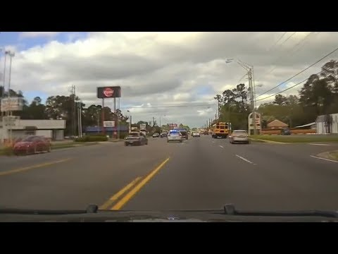 Crazy Georgia Police Chase Through Urban Area