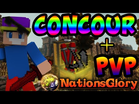 [NationsGlory Yellow] CONCOURS + PVP  (NGIsland)