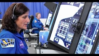 NASA Astronauts Get a Close Look at Boeing's CST-100 Starliner Trainers