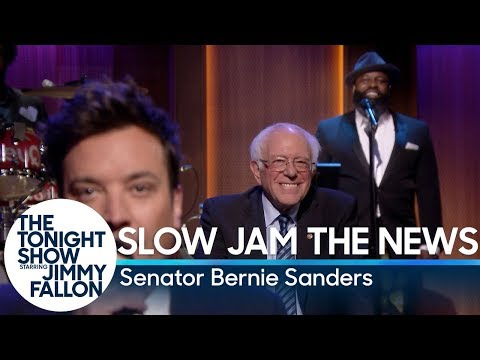 Slow Jam the News with Senator Bernie Sanders
