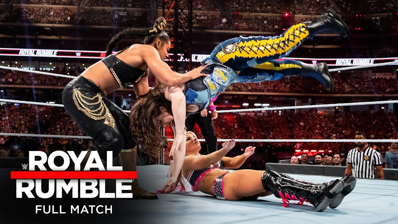 Download FULL MATCH - 2020 Women's Royal Rumble Match: Royal Rumble 2020