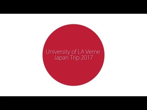University of La Verne Japan Trip 2017
