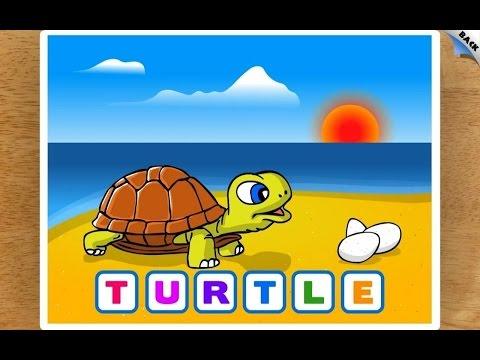 Kids Animal Word Puzzles