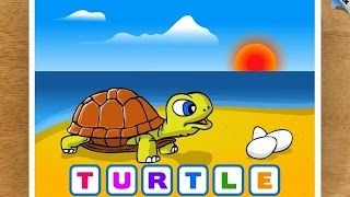 """Kids Animal Word Puzzles """"CFC s.r.o. Education Games"""" Android Gameplay Video"""