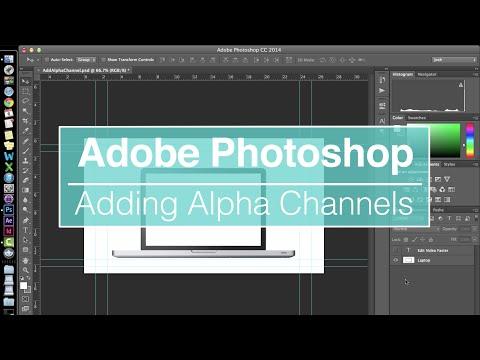 EVF Tutorial – Adding Alpha Channel In Photoshop