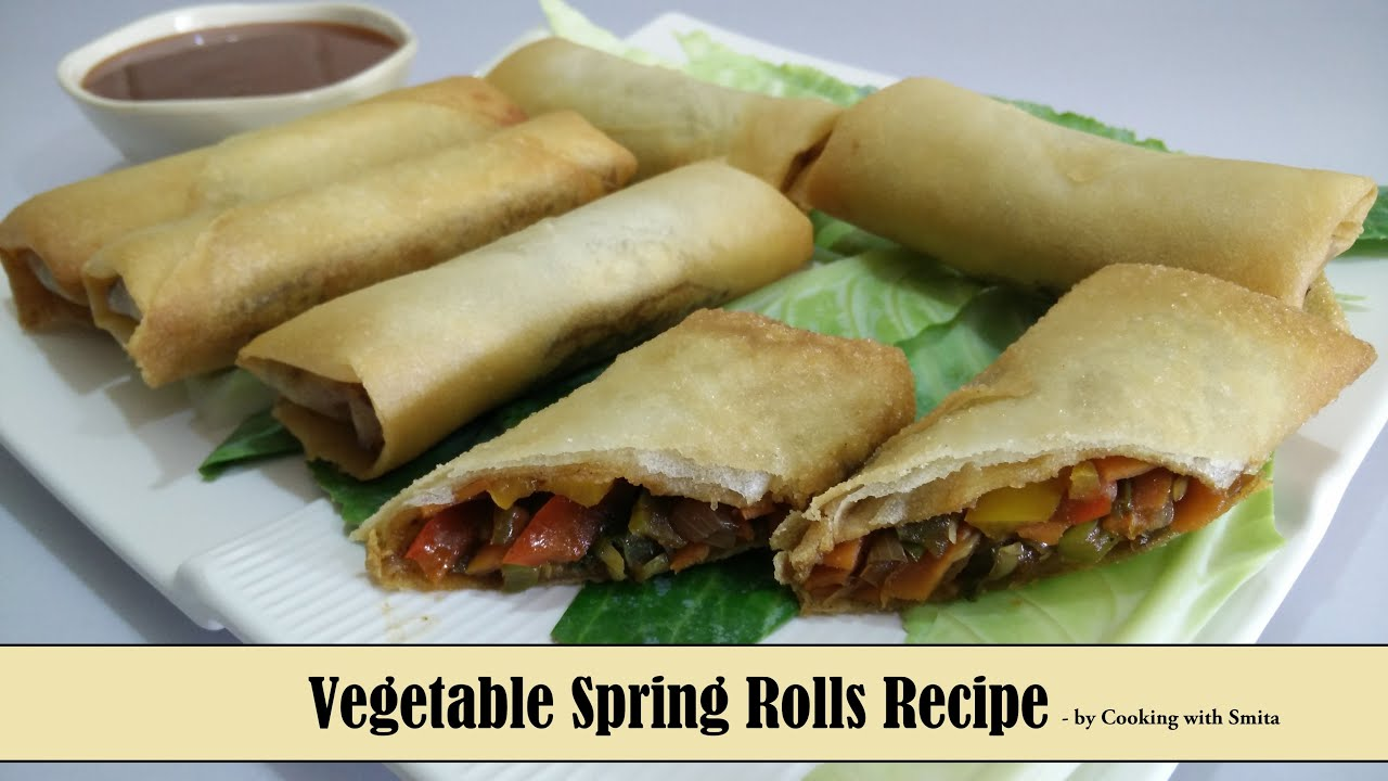 Vegetable spring rolls recipe in hindi by cooking with smita vegetable spring rolls recipe in hindi by cooking with smita crispy tasty chinese appetizer youtube forumfinder Choice Image
