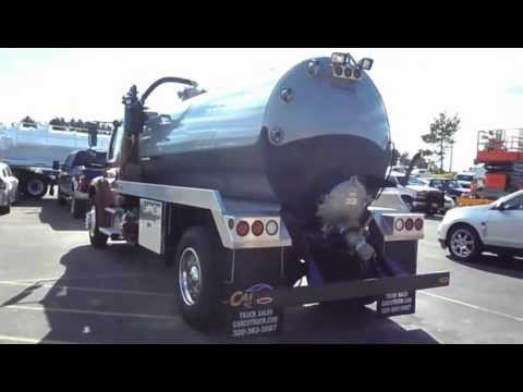 Freightliner Imperial Septic Tank Truck For Sale by CarCo Truck Sales and  Service