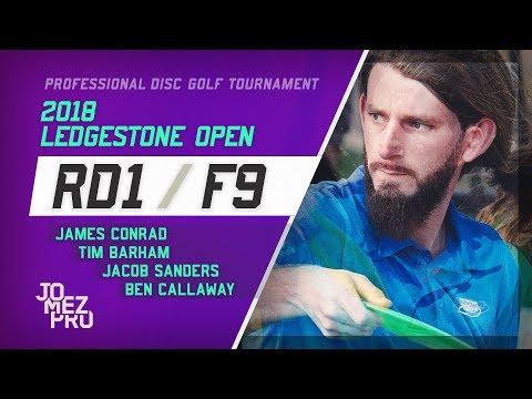 2018 Ledgestone Open   R1, F9, MPO   Conrad, Callaway, Sanders, Barham