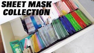 MY SHEET MASK COLLECTION ORGANISATION | KOREAN & TAIWANESE